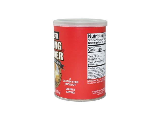 Rumford Aluminum Free Double Acting Baking Powder, 8.1 Ounce -- 12 per case.