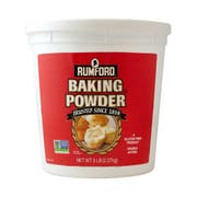 Rumford Non GMO Double Acting Baking Powder, 5 Pound -- 6 per case.