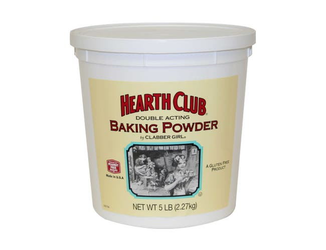 Hearth Club Baking Powder, 5 Pound -- 6 per case.