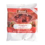 Royal Strawberry Gelatin  24 Ounce each --  12 per case.