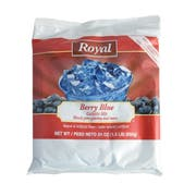 Royal Berry Blue Gelatin, 24 Ounce -- 12 per case.