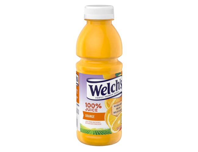 Welchs 100 Percent Orange Juice, 16 Fluid Ounce -- 12 per case.