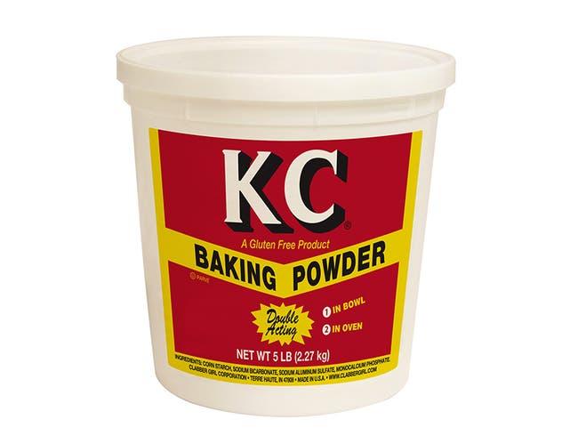 KC Gluten Free Baking Powder, 5 Pound -- 6 per case.