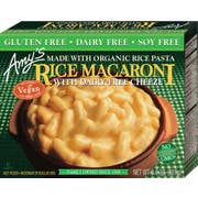Amys Non Dairy Rice Macaroni and Cheeze Entree, 8 Ounce -- 12 per case.