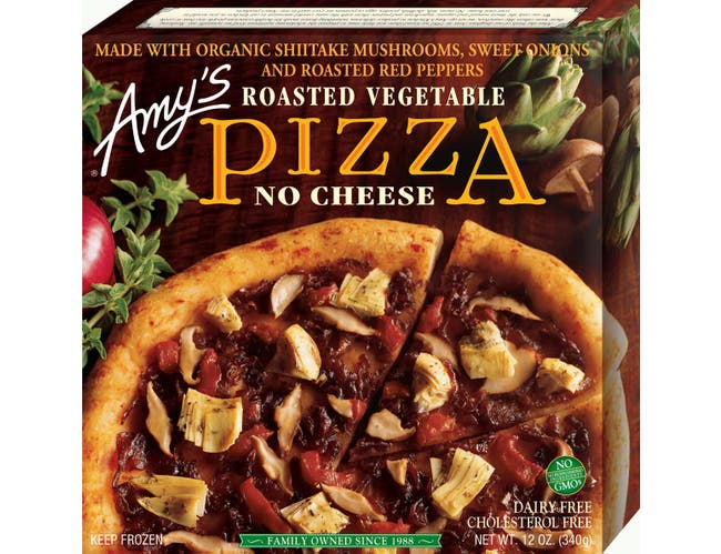 Amys Roasted Vegetable Pizza, 12 Ounce -- 8 per case.