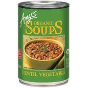 Amys Organic Lentil Vegetable Soup, 14.5 Ounce -- 12 per case.