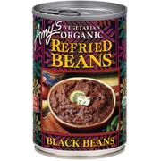 Amys Organic Refried Black Beans, 15.4 Ounce -- 12 per case.