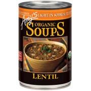 Amys Organic Light in Sodium Lentil Soup, 14.5 Ounce -- 12 per case.