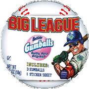 Big League Chew Baseball Gumballs, 0.53 ounce -- 24 per case