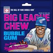 Ford Gum Big League Chew Blue Raspberry Bubble Gum -- 108 per case.