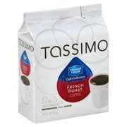Tassimo French Roast Cafe Coffee, 4.45 Ounce -- 5 per case.