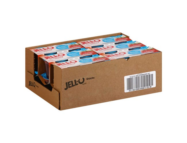 Jello Ready To Eat Sugar Free Strawberry Dessert, 12.5 Ounce -- 6 per case.