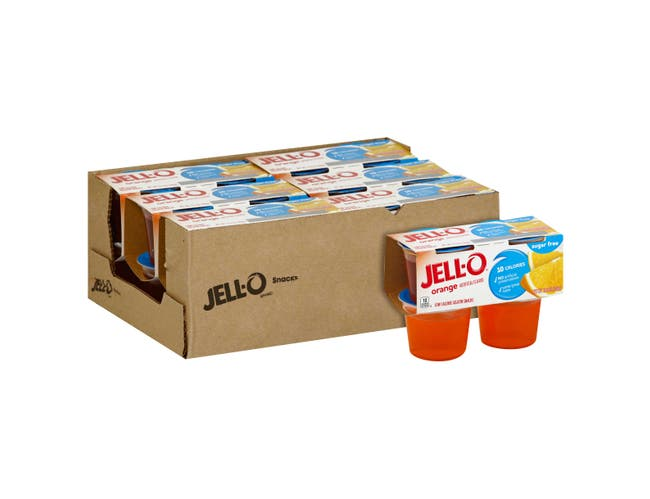 Jell O Ready To Eat Sugar Free Orange Dessert, 12.5 Ounce -- 6 per case.