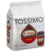 Tassimo Tim Hortons Ground Coffee, 4.33 Ounce -- 5 per case