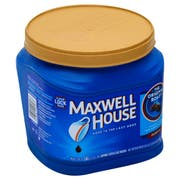 Maxwell House Original Roast Medium Coffee, 30.6 Ounce -- 6 per case.