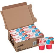Jell O Ready To Eat Sugar Free Strawberry Gelatin, 3.14 ounce -- 24 per case