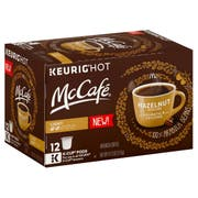 Mccafe Hazelnut Coffee Pods, 4.12 Ounce -- 6 per case.