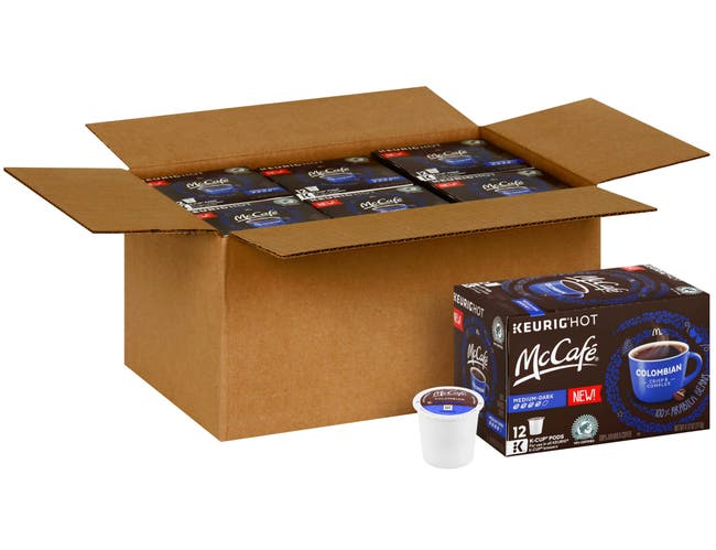 Mccafe Colombian Coffee Pods, 4.12 Ounce -- 6 per case.