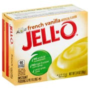 Jello French Vanilla Pudding, 3.4 Ounce -- 24 Case