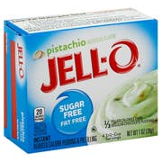 Jell O Instant Pistachio Sugar Free and Fat Free Pudding and Pie Filling, 1 Ounce -- 24 per case.