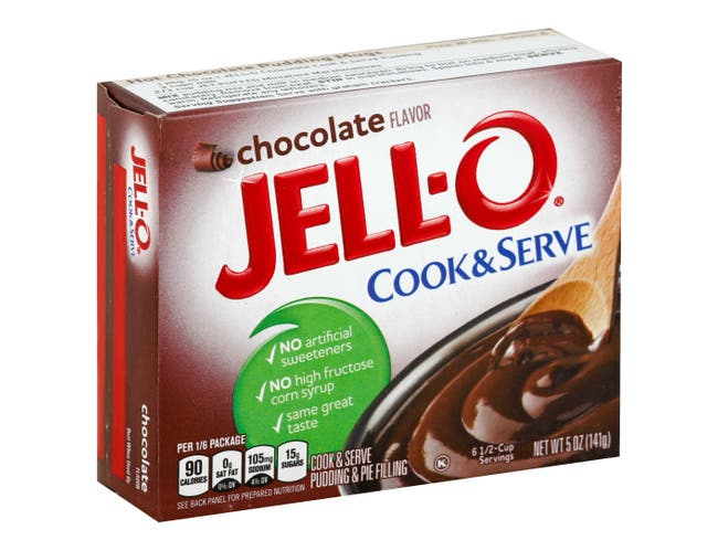 Jello Chocolate Pudding & Pie Filling Filling 24 Case 5.13 Ounce