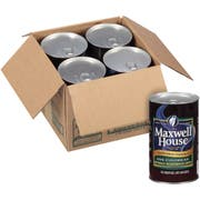 Maxwell House Frozen 100 Percent Columbian Decaffeinated Liquid Coffee Concentrate - 33.8 oz. carton, 4 cartons per case
