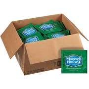 Maxwell House Decaffeinated Coffee - 0.7 oz. In Room filterpack, 100 packs per case