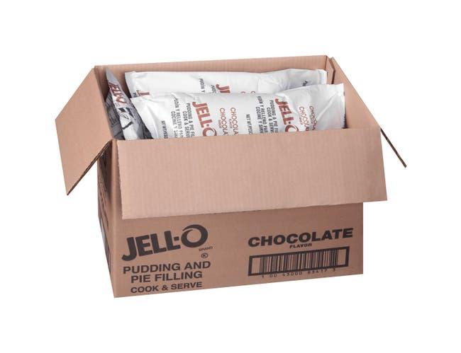 Pudding Jello Pudding & Pie Filling Chocolate 6 Case 4.5 Pound