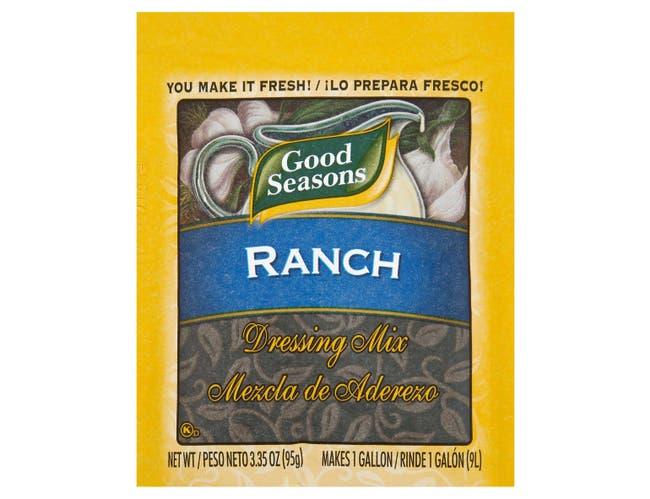Dressing Good Seasons Ranch Salad Dry Mixed,  3.2 Ounce -- 20 per Case