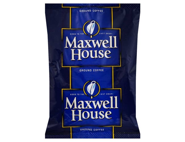 Maxwell House Office Service Coffee - 1.75 oz. pack, 42 packs per case