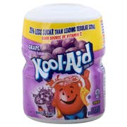 Kool-Aid Sugar-Sweetened Grape Powdered Soft Drink, 19 ounce -- 12 per case