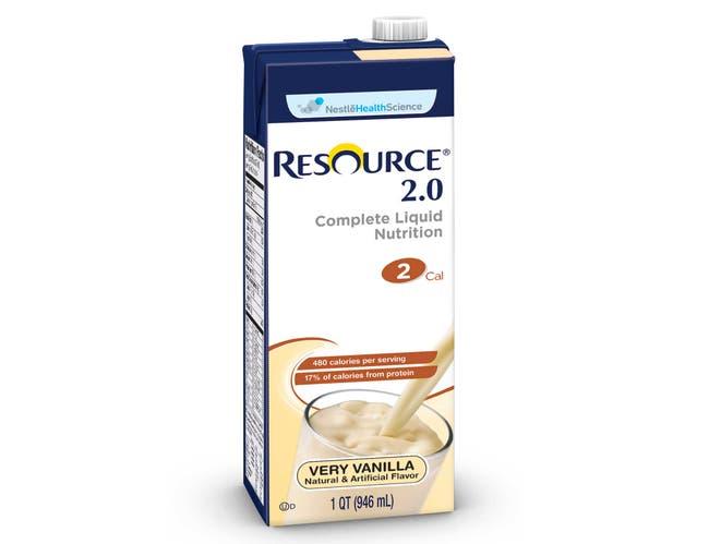 Resource 2.0 Brik Pak Vanilla Creme, 32 Ounce -- 12 Case