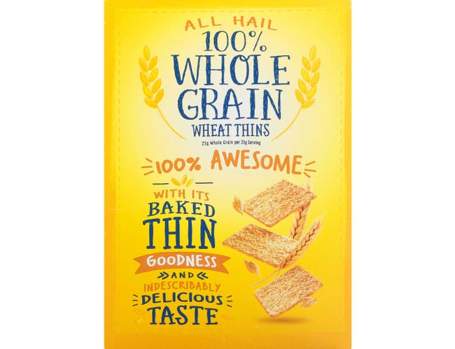Nabisco Wheat Thins Crackers, 16 Ounce -- 6 per case.