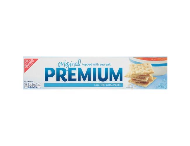 Kraft Nabisco Premium Original Saltine Cracker, 4 Ounce -- 12 per case.