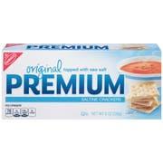 Kraft Nabisco Premium Original Saltine Cracker, 8 Ounce -- 12 per case.
