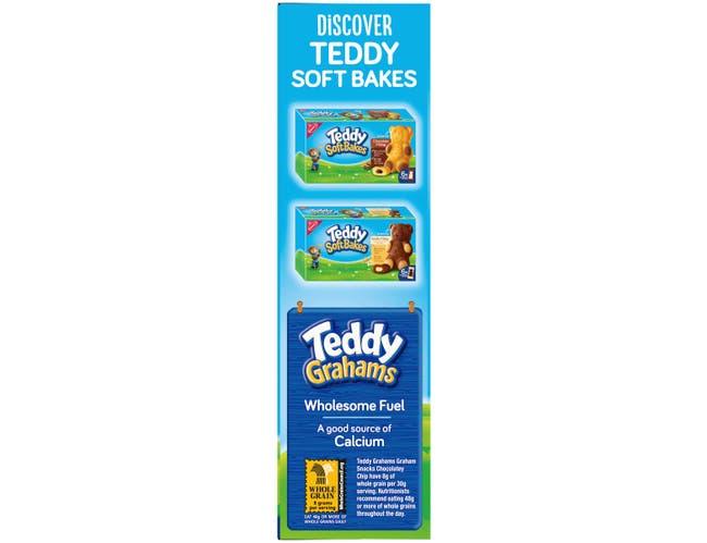 Teddy Grahams Chocolate Chip - 10 oz. box, 6 per case