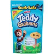 Teddy Grahams Mini Honey Cubs - 8 oz. snak sak, 12 per case