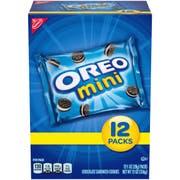 Kraft Nabisco Multipacks Oreo Mini Sandwich Cookies, 12 Ounce -- 4 per case.