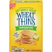 Wheat Thins Reduced Fat Cracker, 8.5 Ounce -- 6 per case.
