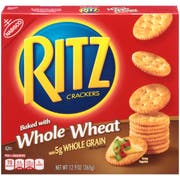 Nabisco Ritz Whole Wheat Cracker, 12.9 Ounce -- 12 per case.