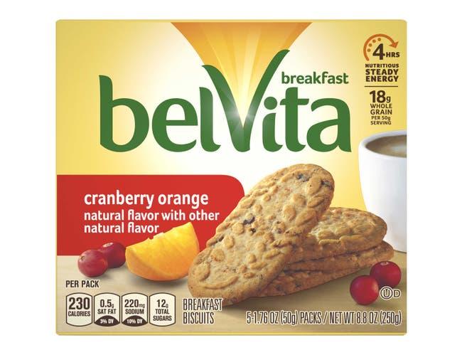 Belvita Cookies Cranberry Orange, 1.76 Ounce -- 30 per case.