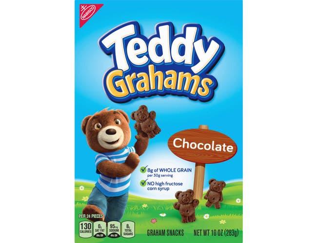 Teddy Grahams Chocolate - 10 oz. box, 6 per case
