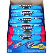 Oreo Single Serve Sandwich Cookies, 23.4 Ounce -- 48 per case.