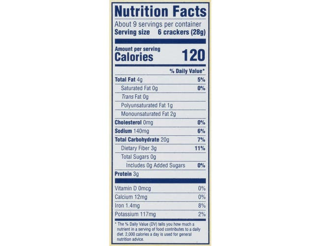 Nabisco Triscuit Cracked Pepper and Olive Oil Crackers, 8.5 Ounce -- 6 per case.