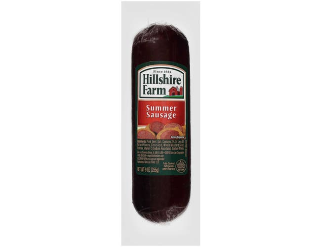 Sara Lee Hillshire Farms Summer Sausage, 9 Ounce -- 24 per case.
