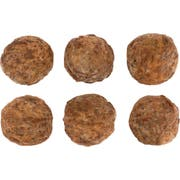 Hillshire Farm Authentically Crafted All Natural Fully Cooked Italian Beef Meatball, 10 Pound -- 1 each.