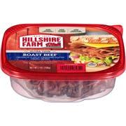 Hillshire Farm Lunchmeat Thin Roast Beef, 7 Ounce -- 9 per case.