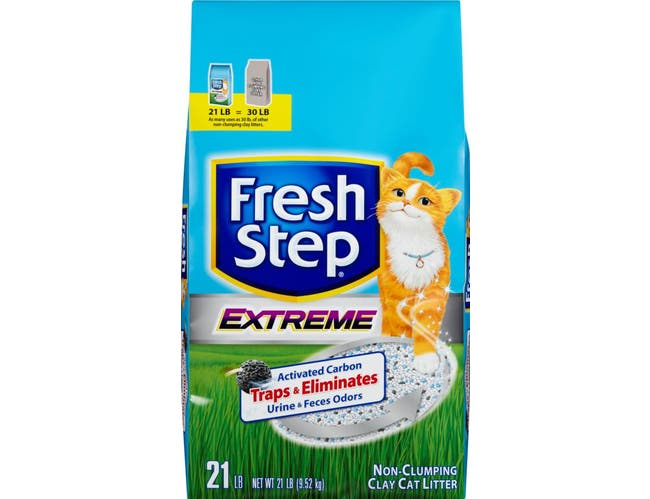 Fresh Step Extreme Clay Cat Litter, 21 Pound -- 1 each.