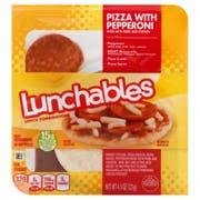 Kraft Oscar Mayer Lunchable Pepperoni Pizza, 4.5 Ounce -- 16 per case.