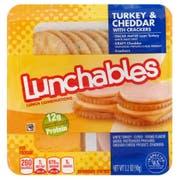 Kraft Oscar Mayer Lunchable Turkey and Cheddar Cheese, 4.5 Ounce -- 16 per case.